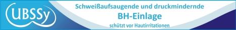 UBSSy-BH-Einlage gegen Hautirritationen
